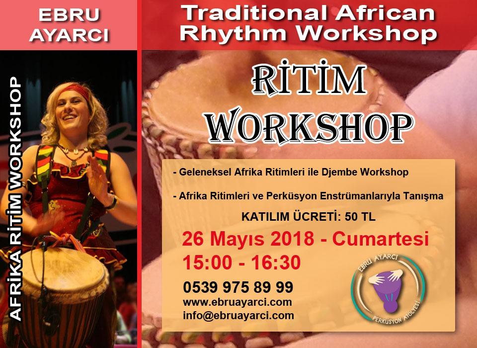 Afrika Ritim Workshop
